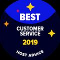 Lencana Dukungan Pelanggan Terbaik diberikan kepada perusahaan yang telah diuji oleh editor kami secara anonim terhadap dukungan Email & Telepon mereka dan telah terbukti mengagumkan.