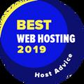 Dianugerahkan kepada perusahaan yang termasuk top 10 untuk kategori hosting web terbaik.