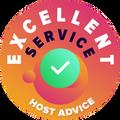 """Kami secara khusus menyediakan waktu dan secara anonim memeriksa setiap dan masing-masing layanan pelanggan perusahaan.  """"Lencana keunggulan"""" dihadiahkan kepada perusahaan hosting yang sesuai dengan standar tinggi layanan pelanggan HostAdvice, termasuk juga layanan itu terbukti disajikan dengan cepat, efisien, berwawasan luas, dan terutama sekali, sangat membantu."""